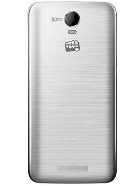 Micromax Canvas Juice 2 AQ5001 Android Lollipop, Quad Core Processor with 2GB RAM & 8GB ROM - Silver