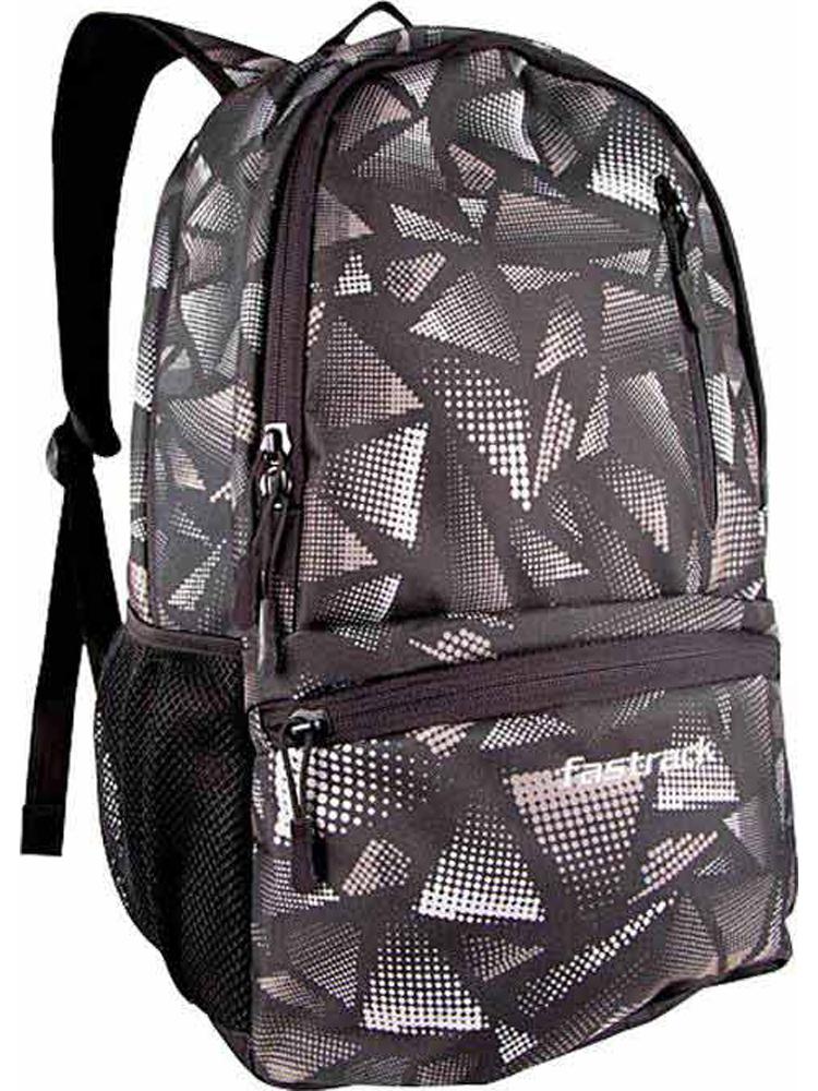 Buy Fastrack Polyester Backpack - Black-4425 Online at ...