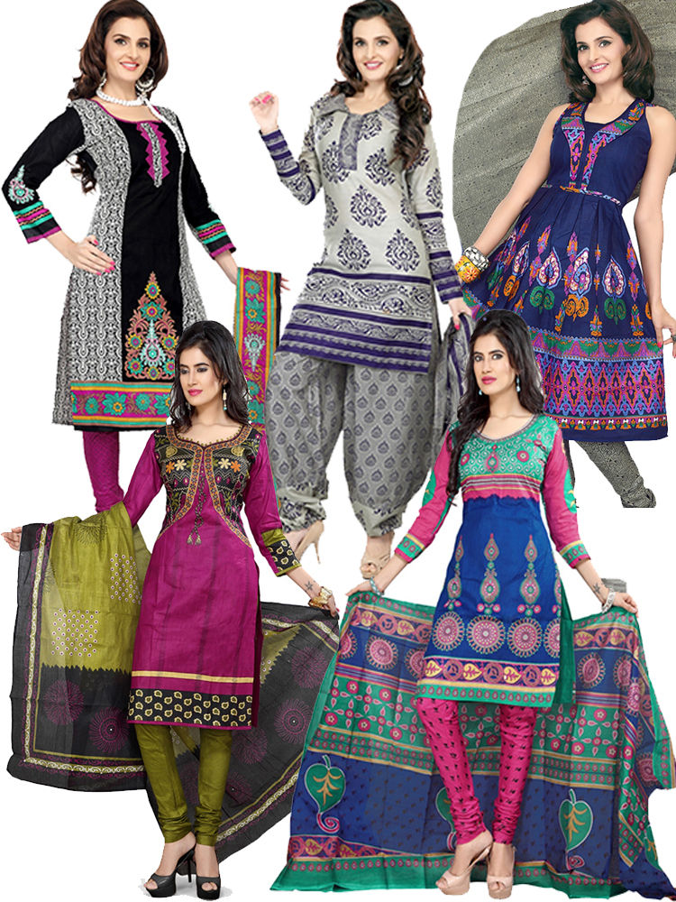 Combo Dress Material Online