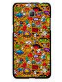 Snooky Designer Print Hard Back Case Cover For Samsung Galaxy Core Prime G360H - Multicolour