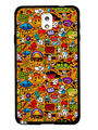 Snooky Designer Print Hard Back Case Cover For Samsung Galaxy Note 3 - Multicolour