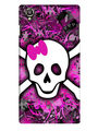 Snooky Digital Print Hard Back Case Cover For Lava Iris 800 - Purple