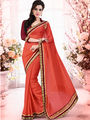 Bahubali Georgette Jacquard Embroidered Saree - GA.50428
