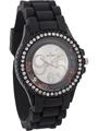 Dezine Wrist Watch for Women - Silver_DZ-LR060-BLK-BLK