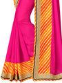 Indian Women Designer Printed Georgette Saree -Ic11221