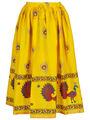 Amore Printed Cotton Skirt -Skv141Y